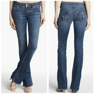 Hudson Signature Low-rise Bootcut Jean